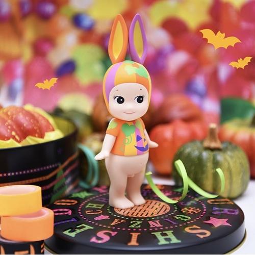 Sonny Angel Big Halloween Pumpkin 2017 SET - rabbit & elephant