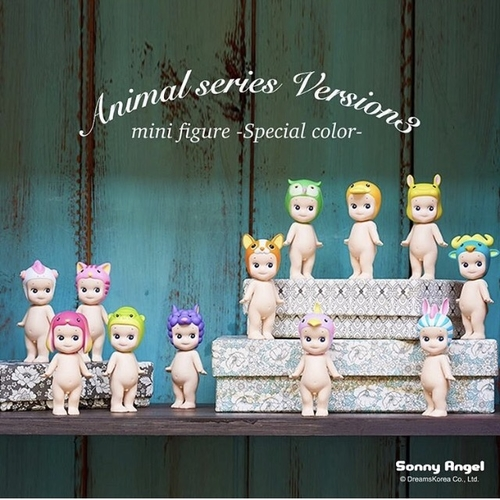 Sonny Angel Special Color Djur Serie 3