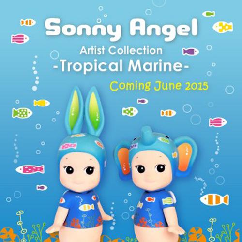 Sonny Angel Big Tropical Marine 2015