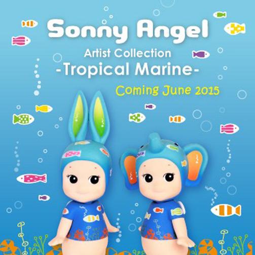 Sonny Angel Stor Tropical Marine 2015